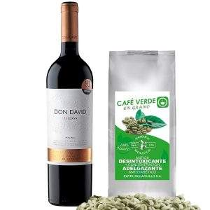 Don David  Reserva x 750 ml + Café Verde de 1 kilo